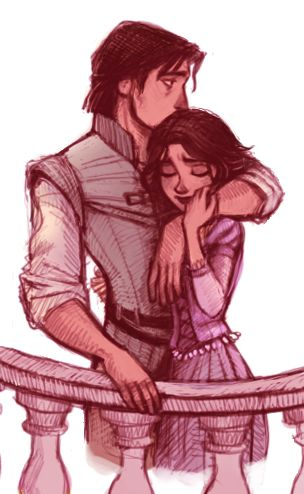 Tangled Love :)- SEE these are moments when I want to be a Disney Princess. Its no fair