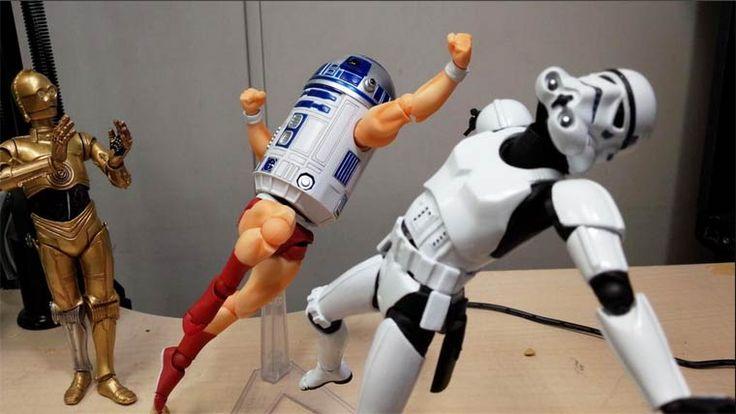 Quand on mélange les figurines Star Wars