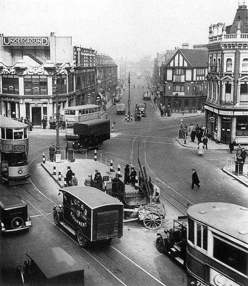 London, 1920s.