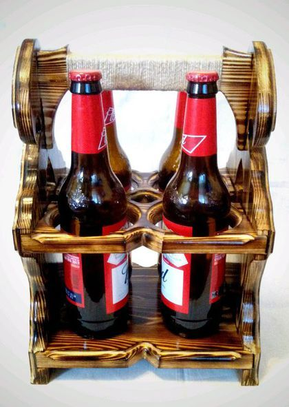 Купить или заказать Подставка для бутылок в интернет-магазине на Ярмарке Мастеров. Иногда мы задумываемся над тем, что подарить на день рождения, юбилей или профессиональный праздник. Подставка для бутылок (вино, пиво) ручной работы станет отличным решением для Вас. Изготовлена из натуральной древесины хвойных пород дерева. Замечательно впишется в любой интерьер и разнообразит его. Такой подарок будет по достоинству оценен Вашими родными, близкими, коллегами.