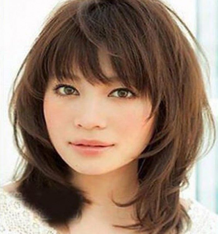 Hairstyles 2014 Medium Haircuts 2014 With Bangs For