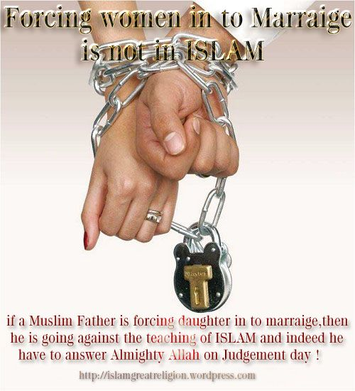 force marriage in islam is forbidden - Mariage Forc Islam