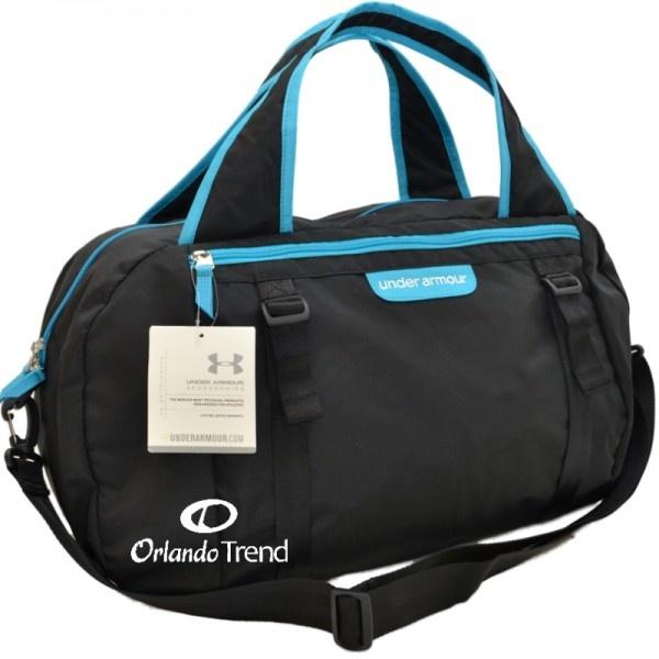 Under Armour Endure Black and Blue Women's Duffel Bag at OrlandoTrend.com  #UnderArmour #Duffel #Bag #Yoga #Pilates #Mat #Gym #Gimnasion #Maletin #OrlandoTrend