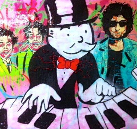 """""""Piano Monopoly"""" by Alec Monopoly"""
