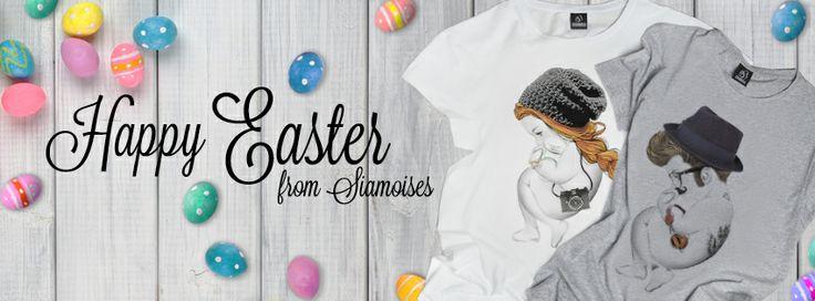 Happy easter #siamoises!