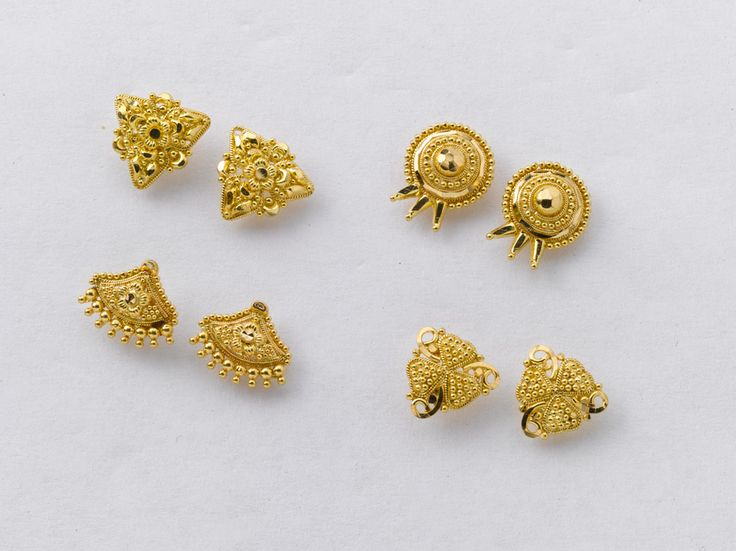 56 Best Beautiful Gold Earrings Factory Prices Images On
