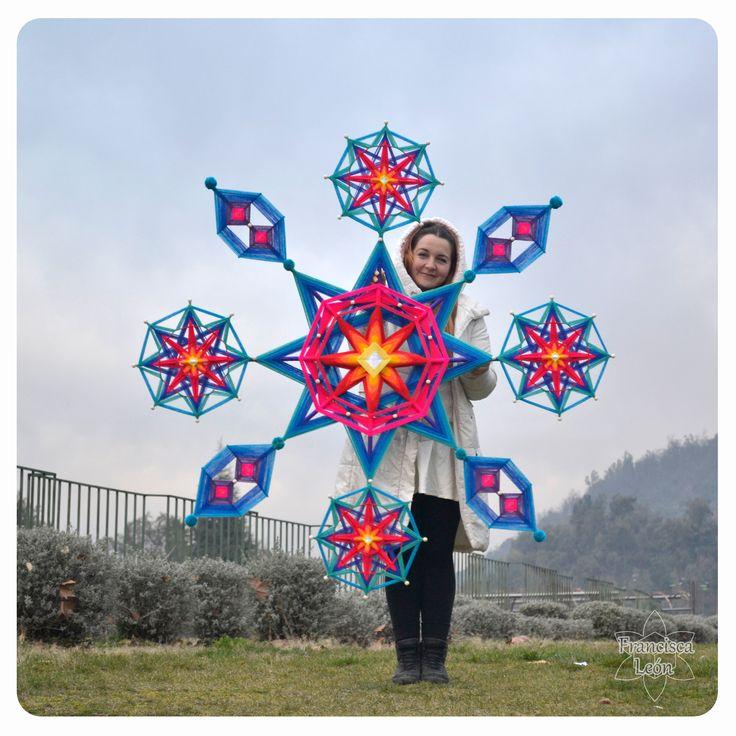 :: Macro Mandala :: Fb Mandalas Tejidos Francisca Leon