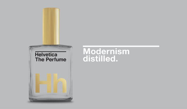 Helvetica The Perfume Modernism Distilled.