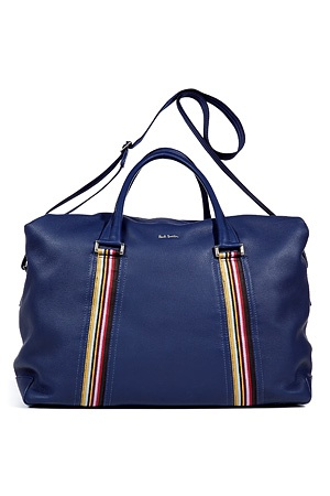 Blue Calf-Leather Bag