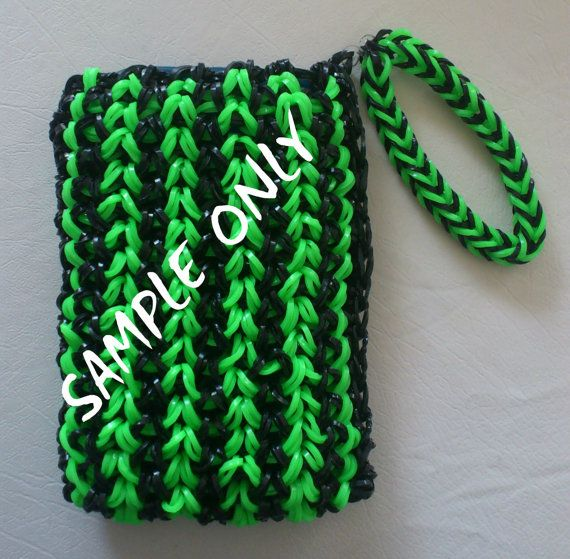 Wristlet Ipod Cover Standard size by PatportelCollections on Etsy, $15.00