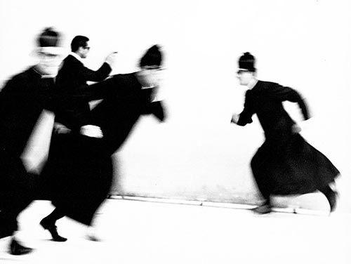 """Mario Giacomelli, from the series """"Io non ho mani che mi accarezzino il volto"""", 1953"""