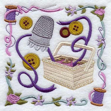 Machine Embroidery Designs at Embroidery Library! - Color Change - E8445 2/23/2011