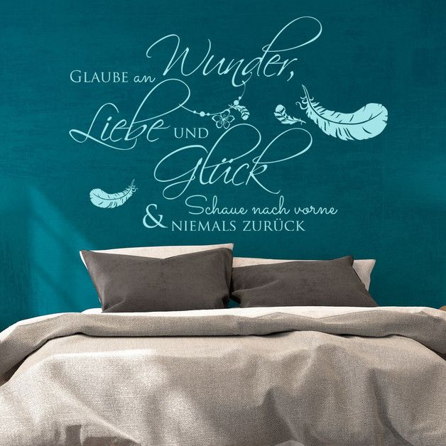 17 best ideas about wandtattoo zitate on pinterest. Black Bedroom Furniture Sets. Home Design Ideas