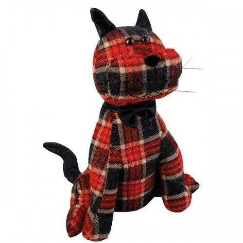 Free pattern: Kitty, dog, or owl doorstop.
