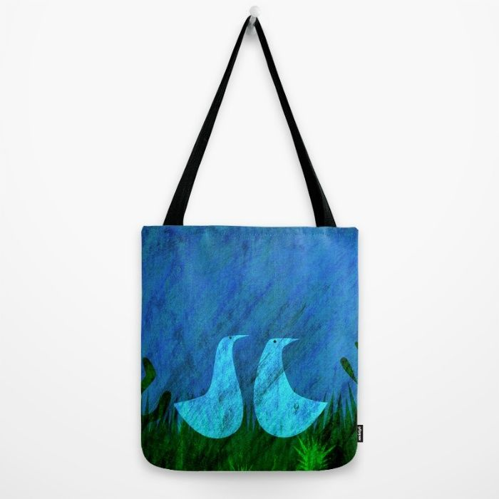 Lovers Tote Bag by Inmyfantasia