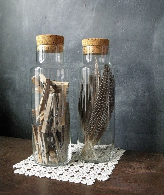 Apothecary jars. #decoration #crafts #cool