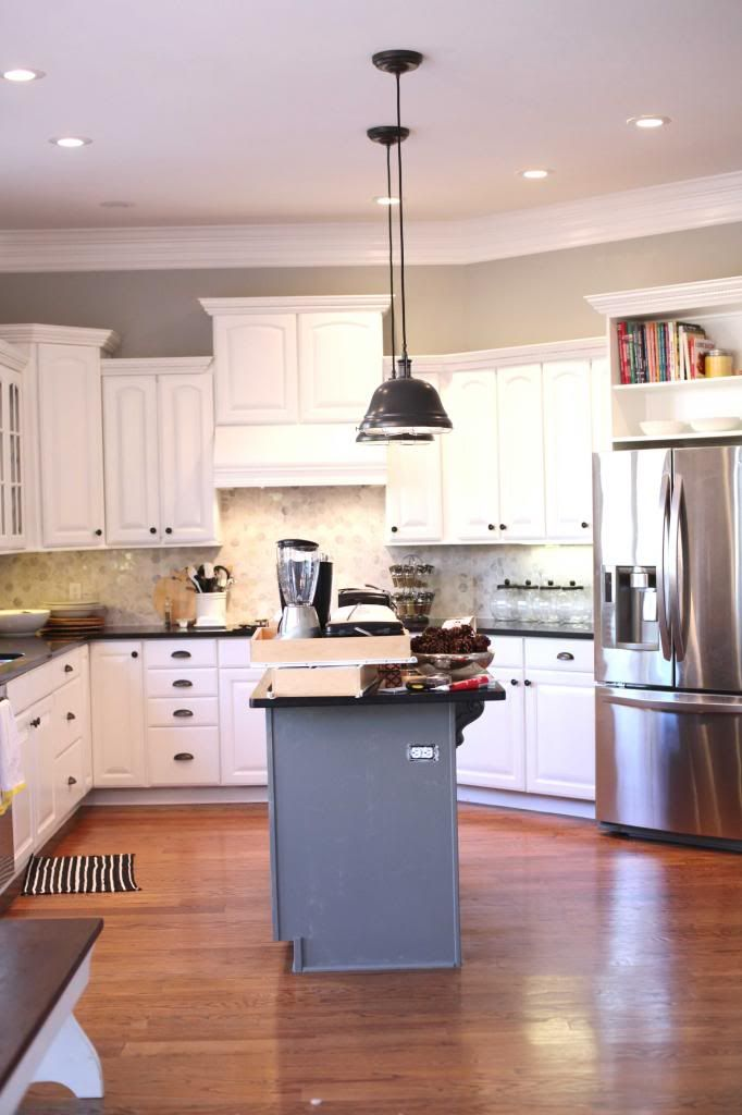 kitchen colors and tutorial before and after