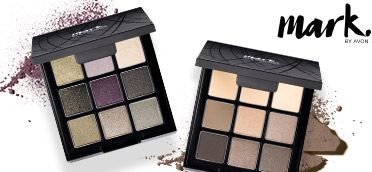 Unleash your inner beauty queen with the mark. By Avon Contact Hook Up Eyeshadow Palette! Magnetic palettes let you connect & reconnect with mark. bronzer & blush! #AvonRep