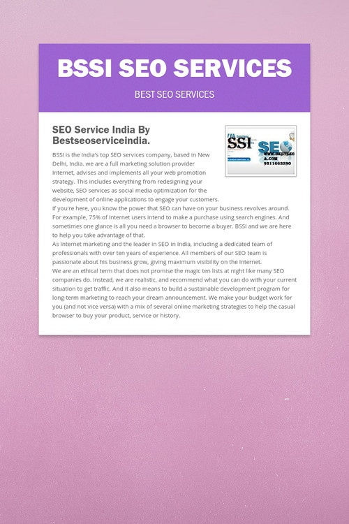 best seo services delhi
