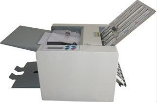 500.00$  Buy now - http://alincd.worldwells.pw/go.php?t=32291420399 - Electric Automatic Paper Folder Folding Machine Leaflet folding machine Letter accordion double single fold size A4-B7