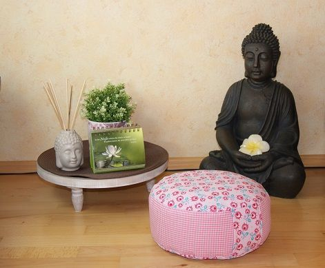 Yoga Kissen selbernähen - Idee im Link