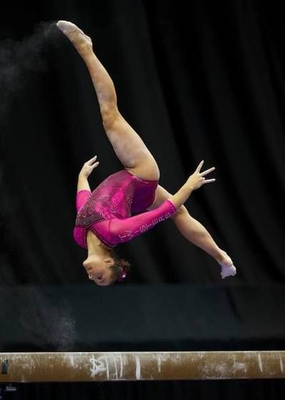 Maggie Nichols--2014 P&G Championships day one