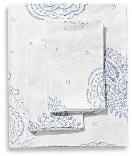 Belle Epoque Paisley Sateen Sheet Set