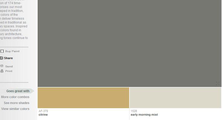 amherst gray ben moore awesome decor pinterest. Black Bedroom Furniture Sets. Home Design Ideas
