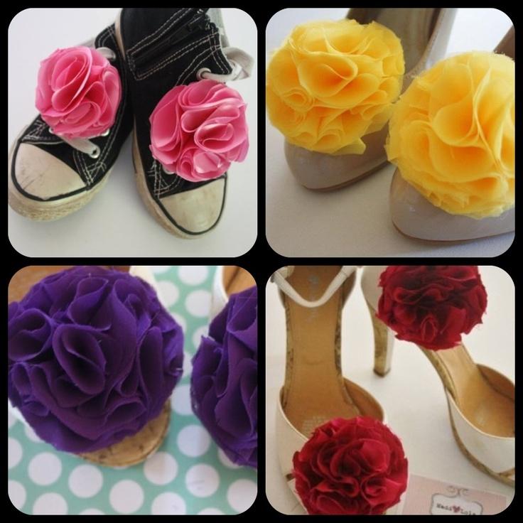 A Madd Lola classic - 'Hello Lover' shoe clips www.maddlola.etsy.con