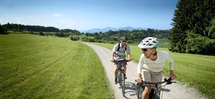 Radrunde Allgäu. Eine Radtour auf einem klassifizierten Radfernweg im Urlaub genießen.