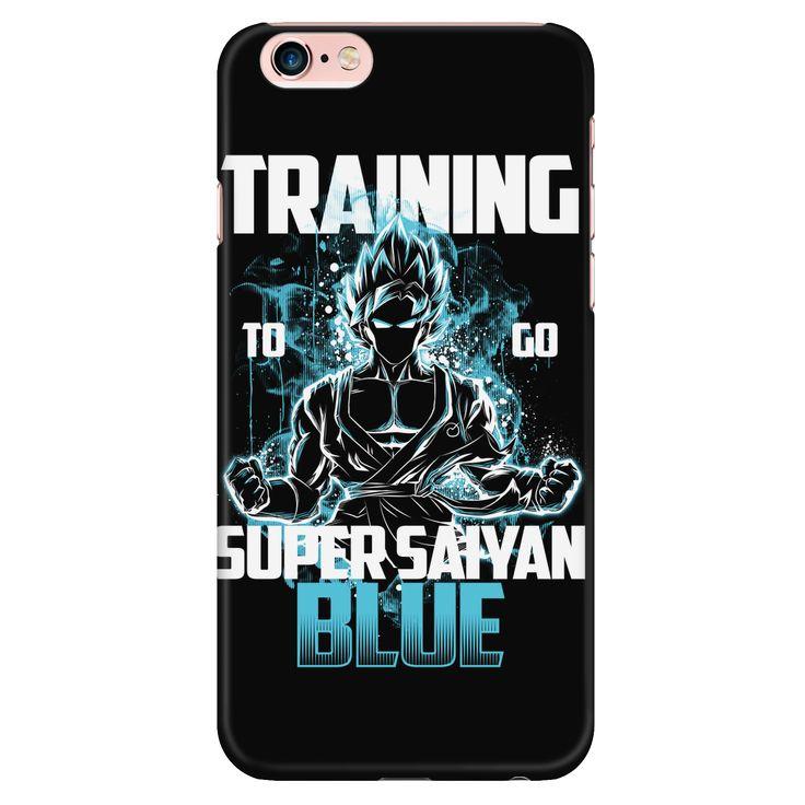 Super Saiyan - Goku Training to go Super Saiyan Blue - Iphone Phone Case - TL00889PC