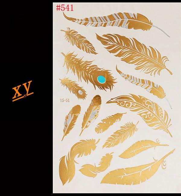 Купить Diy рука тату одноразовые золото и серебро перья золотой блеск татуировки татуировки оптовая продажаи другие товары категории Временные татуировкив магазине Fashion tattoo International TradeнаAliExpress. искусство оптовой и искусствоведы