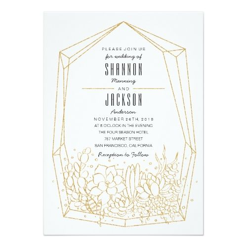 the 25+ best ideas about succulent wedding invitations on, Wedding invitations