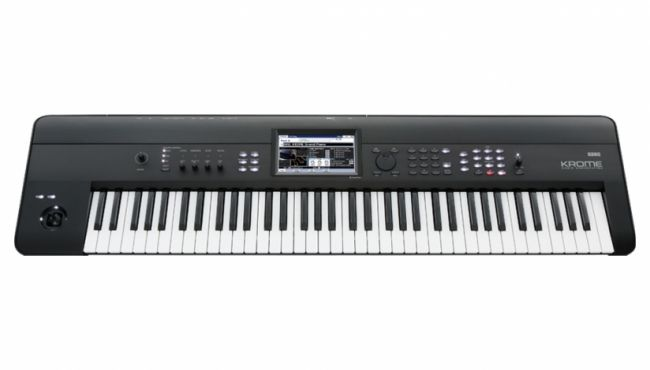 The Korg workstation ideal for any style of piano playing Kronos-derived full length, unlooped piano and drum sounds, plus new electric pianos designed to shine on stage Electric pianos with eight-level velocity switching for unmatched expressive power Clear, intuitive control with Korg's exclusive 7-inch color TouchView™ display