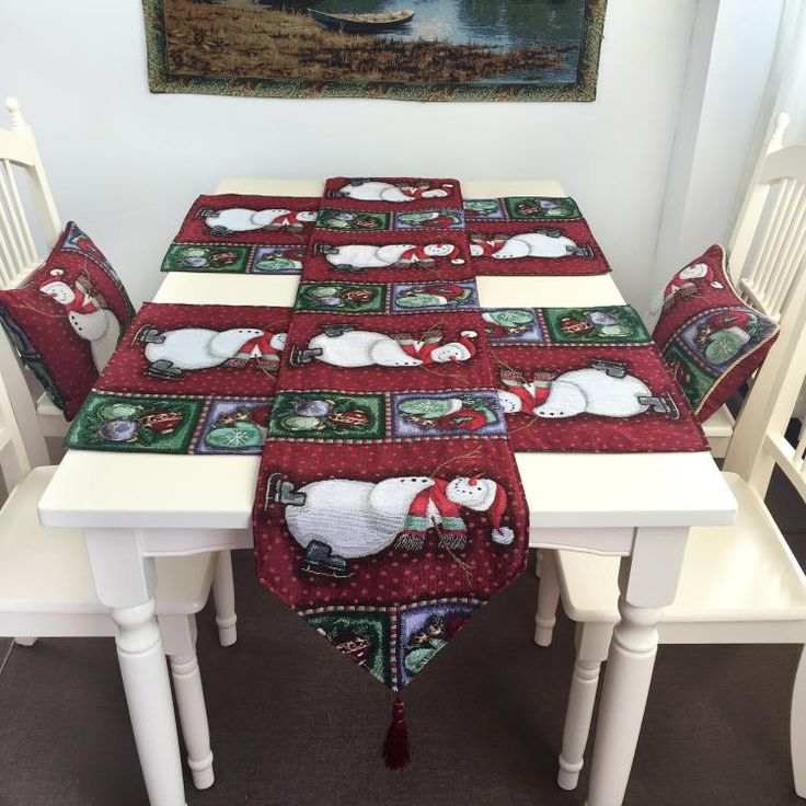 Cheap jacquard table runner, Buy Quality table runner directly from China table runners wholesale Suppliers:    New Christmas Bells Red pattern Dec Linen Jacquard Table Runner Dinner Place mat Mat Jacquard home Ornament wholesale