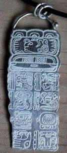 Nos Bijoux en argent avec le Calendrier Maya