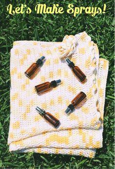 Young Living Essential Oils:   Sprays