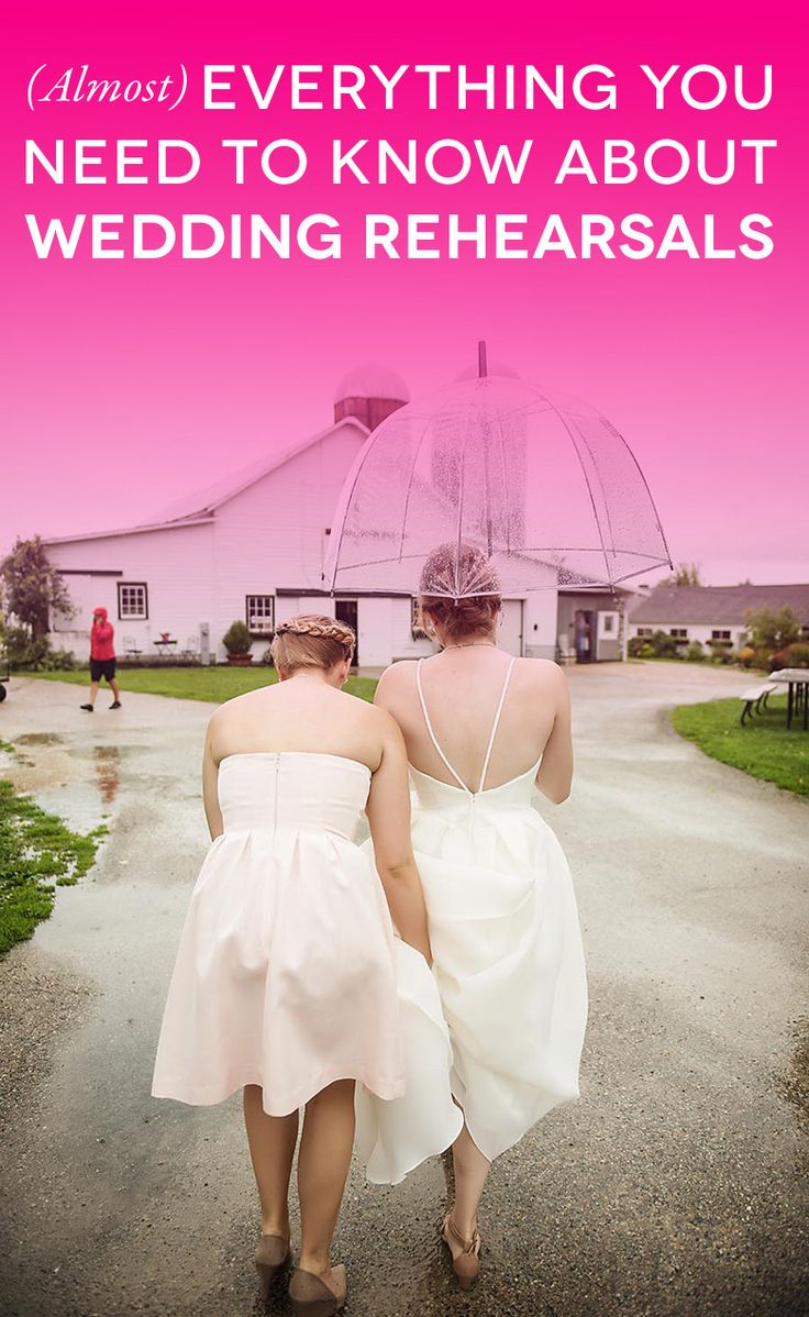 Get Sh*t Done: (Almost) Everything You Need to Know About A Wedding Rehearsal | A Practical Wedding