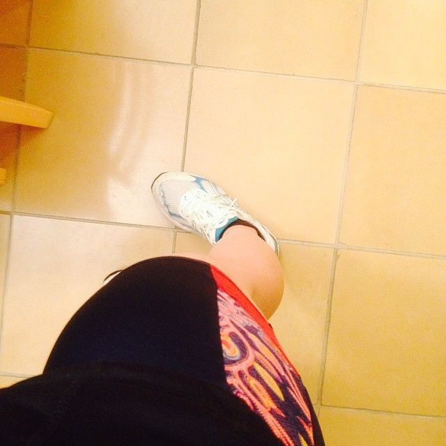 Day 2 #mmmay duathlon shorts for a 6am cycle class.