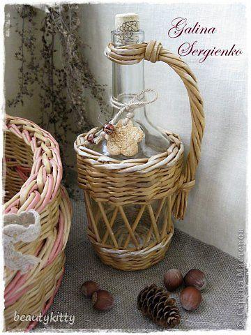 Поделка изделие Плетение Моё плетение Март Трубочки бумажные фото 12