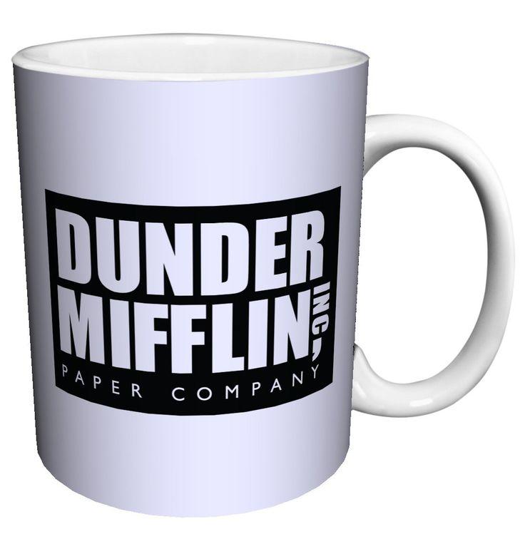 geekgadgets:  Dunder Mifflin Mug!  http://ift.tt/2jpoe5B
