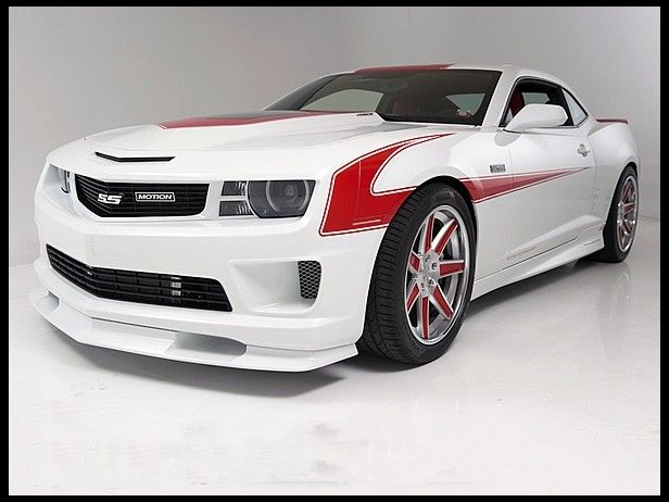 Not a huge fan of the boxy frame but I like the paint job and the rims on the tires... S279 2011 Chevrolet Camaro SS Coupe Baldwin Motion Phase III