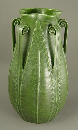 Dard Hunter vase.