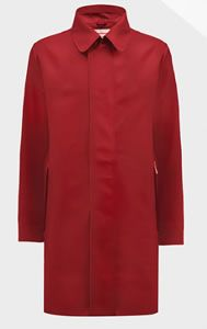 Hunter Original Rubberised Raincoat in Military Red