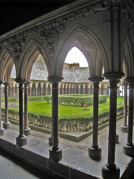 Abbaye du Mont St Michel (Manche) Basse-Normandie