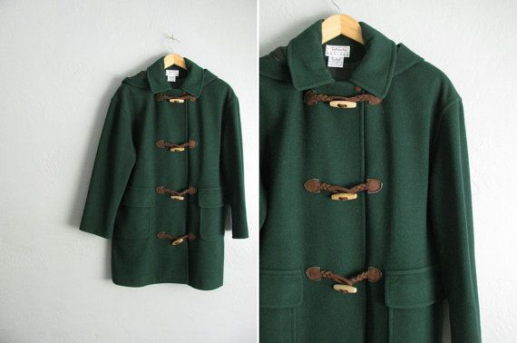 Duffle Coat Green