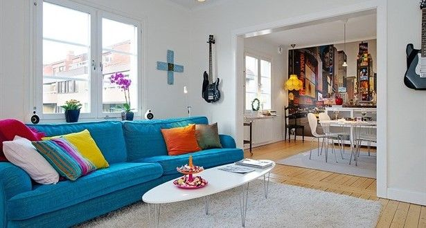 Stüdyo Tipi Daire Dekorasyonu İçin Dekoratif Önerileri Stüdyo tipi daireleri genelde tek başına yaş...