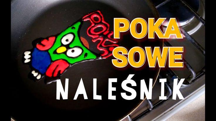 NALEŚNIK POKA SOWE / PANCAKE ART / POKA POKA SOWE NALEŚNIKI