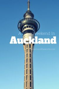 A long weekend in Auckland  New Zealand
