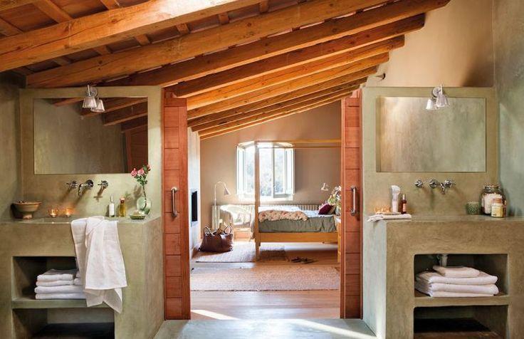 adelaparvu.com despre casa rustica cu interior in nuante naturale, designer Gaby Conde, Foto ElMueble (14)